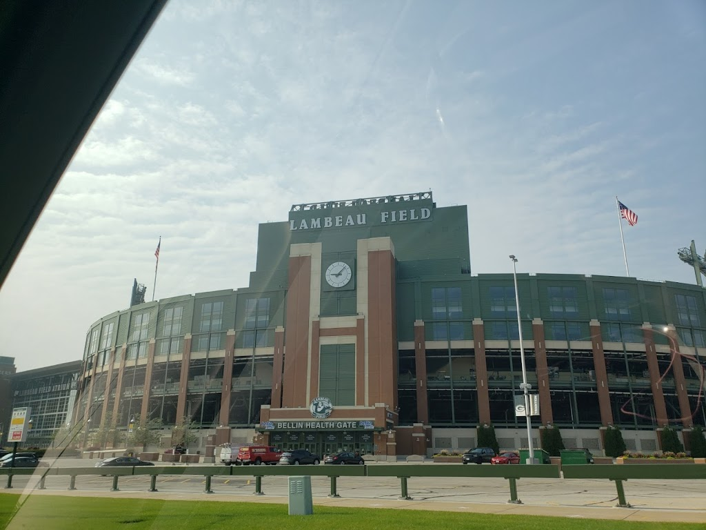 Lambeau Field and Green Bay Packer Hall of Fame